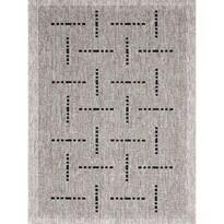 Kusový koberec Floorlux silver/black 20008