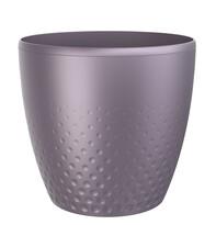 Plastový obal na kvetináč Perla 16 cm, fialová