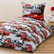 Dětské bavlněné povlečení Cars Silver, 140 x 200 cm, 70 x 90 cm
