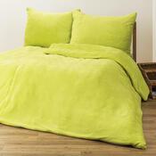 4Home povlečení mikroflanel zelená, 140 x 200 cm, 70 x 90 cm