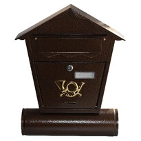 Poštová schránka Antika hnedá