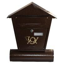 Poštovní schránka Antika hnědá