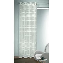 Albani Gino függöny karikákkal, fehér, 135 x 245 cm