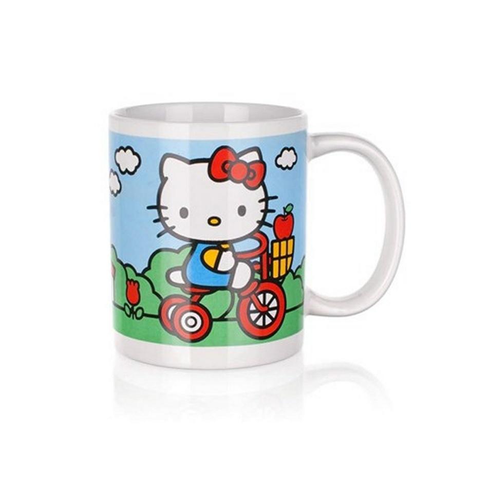 Banquet Hello Kitty dětský hrnek v dárkovém boxu 325 ml