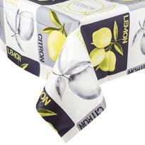 Ubrus vinylový Citron, 140 x 160 cm