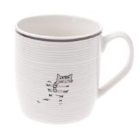 Porcelánový hrnček Mourek, 345 ml