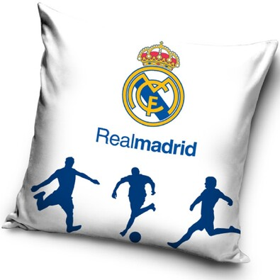 Polštářek Real Madrid fotbalisti, 40 x 40 cm