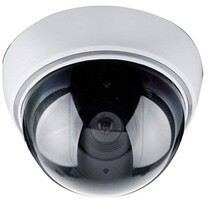 Solight 1D41 Maketa bezpečnostnej kamery na strop , strieborná