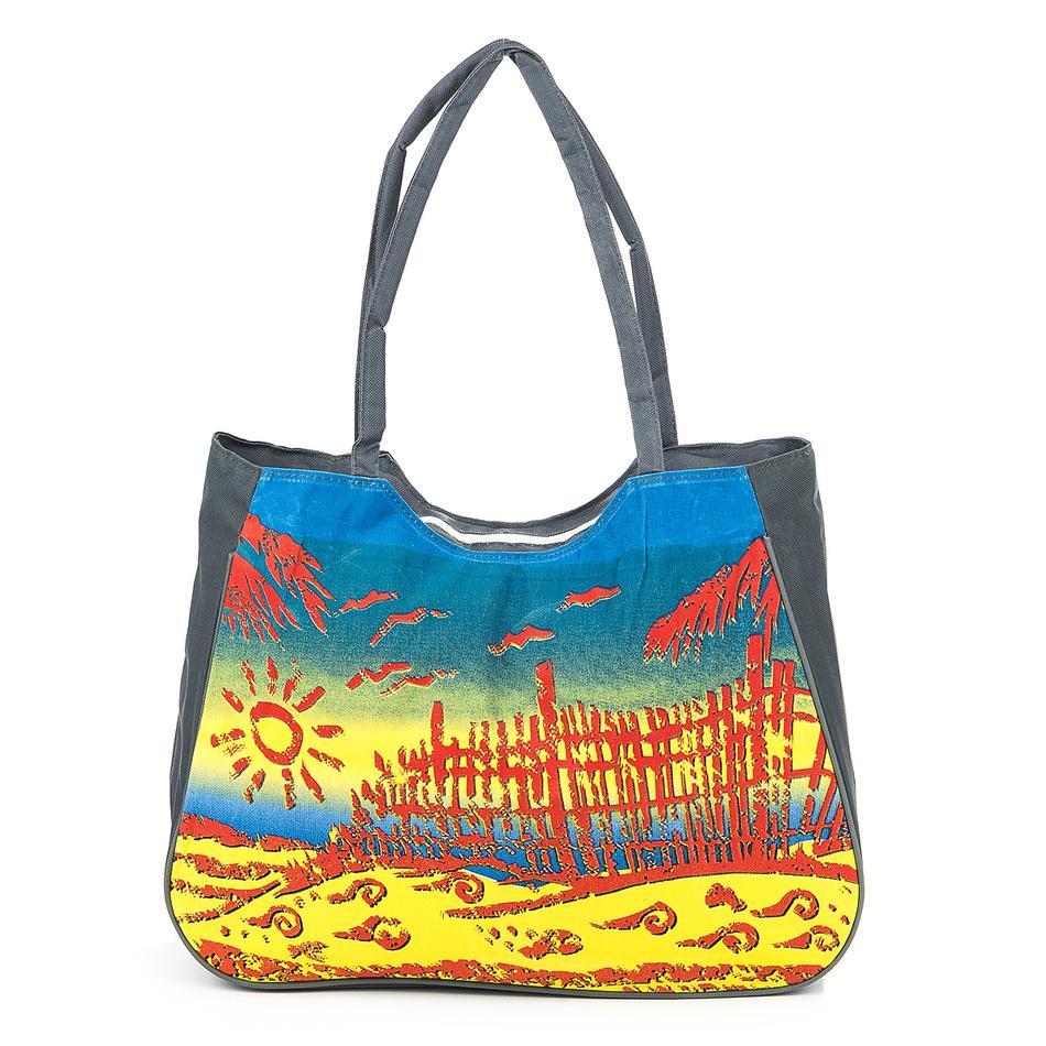 Plážová taška Summer šedá
