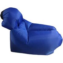 Dmuchany worek do siedzenia Lazy Bag, niebieski
