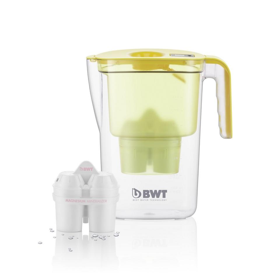 BWT filtračná kanvica Vida 2,6 l žltá + filter