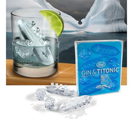 Ledový Titanic forma na led modrá
