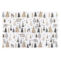 Vánoční prostírání Forest, 28 x 43 cm
