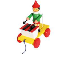 Bino Jucărie Pinocchio cu xilofon