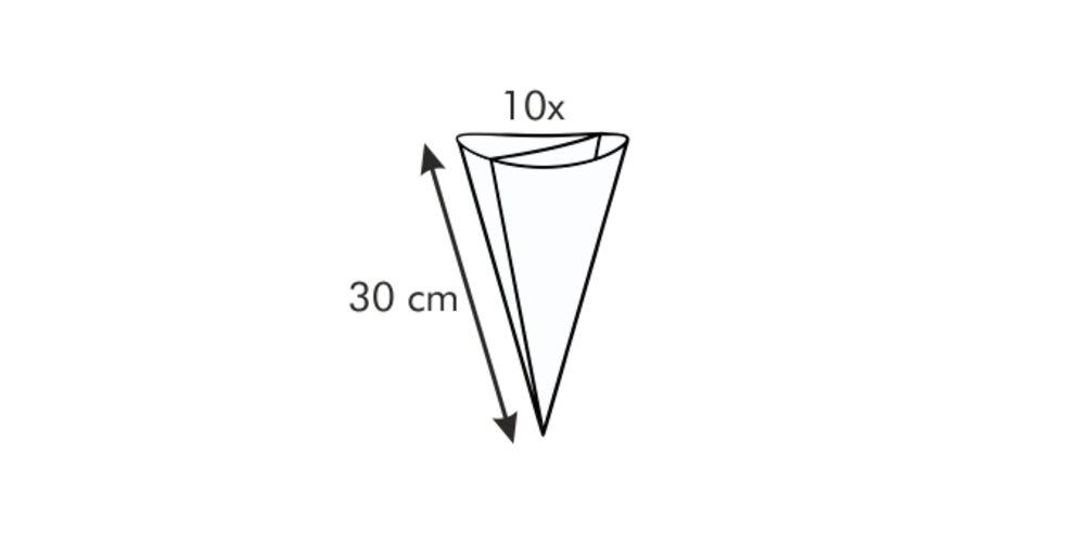 Tescoma DELÍCIA zdobící sáček dvojitý 30 cm, 10 ks