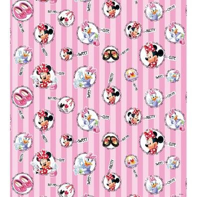 Dětská fototapeta Minnie Mouse a Daisy, 53 x 1005 cm
