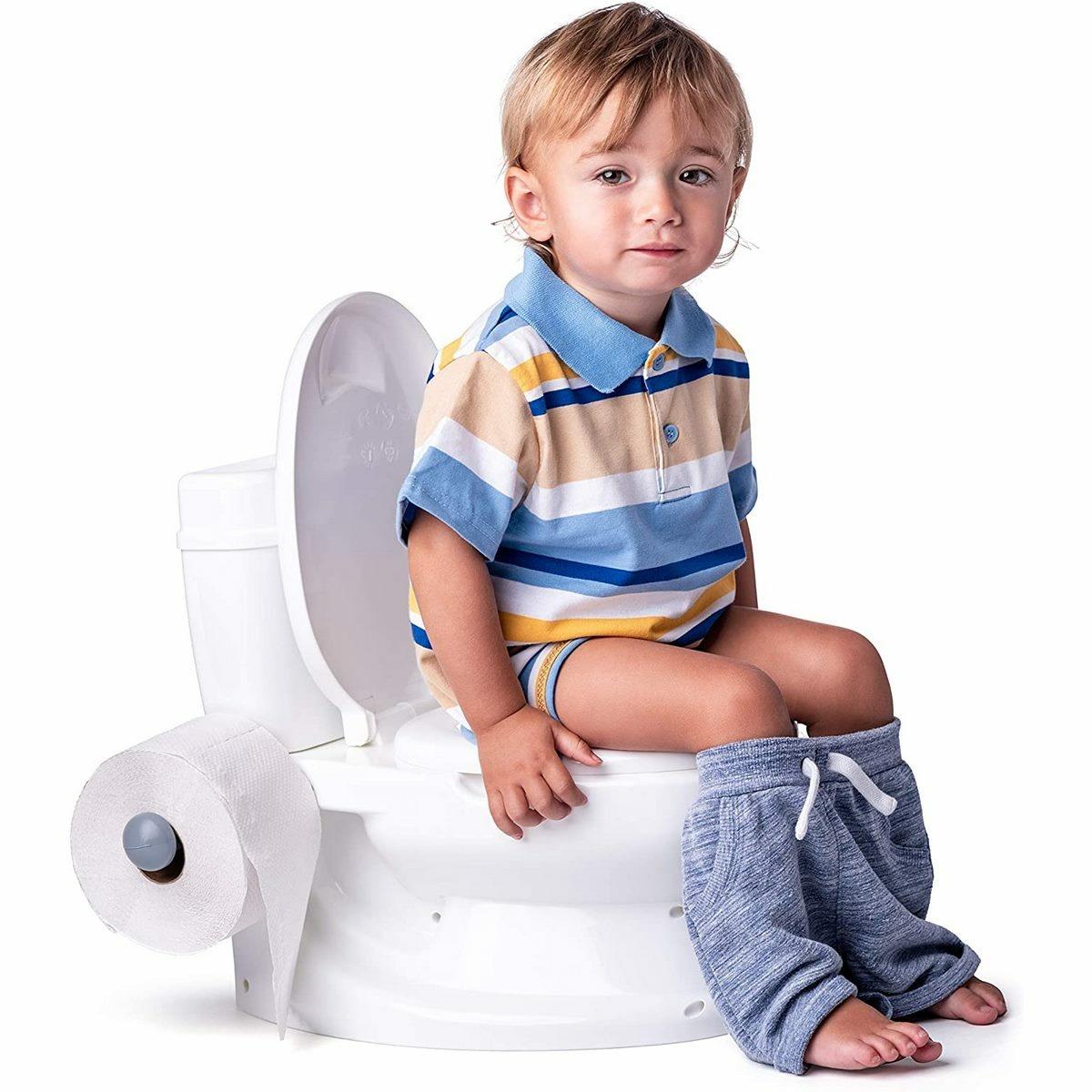 Dolu Detská toaleta, biela