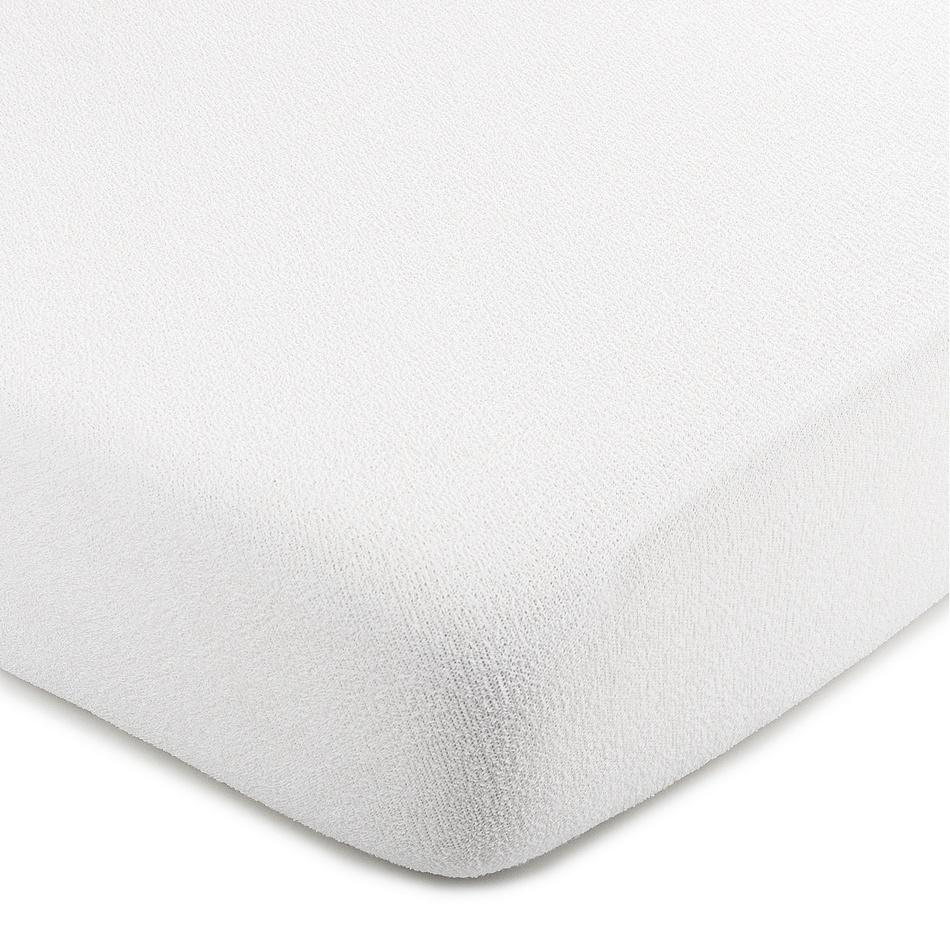 4Home froté prostěradlo bílá, 220 x 200 cm