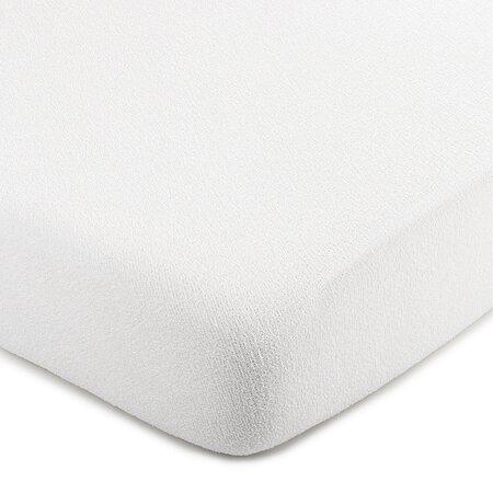 Cearșaf frotir 4Home, alb 220 x 200 cm