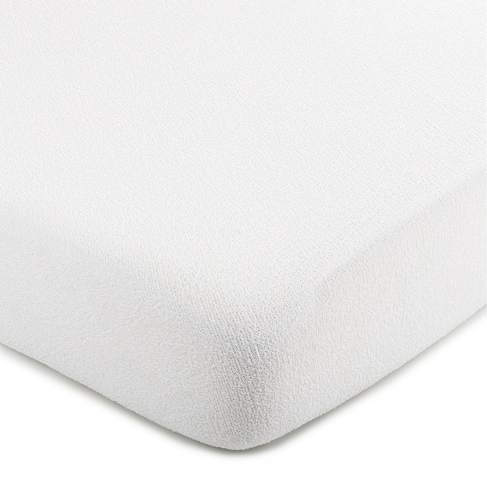4Home froté prostěradlo bílá, 100 x 200 cm
