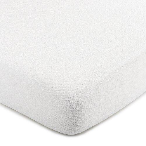 4Home froté prestieradlo biela, 200 x 220 cm