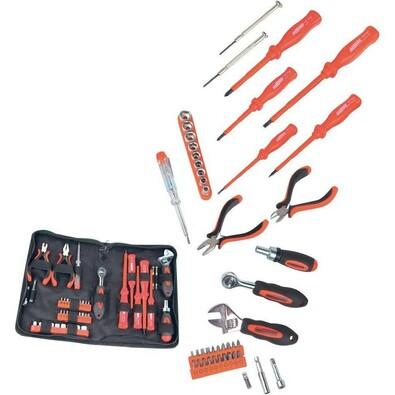 Sada nástrojů pro elektroniku, 45 ks, Conrad