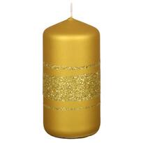 Vánoční svíčka Fénix, zlatá