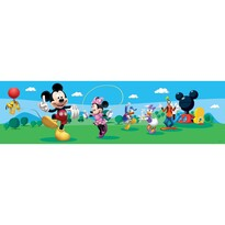 Bordură autoadezivă Mickey Mouse şi prietenii lui, 500 x 14 cm