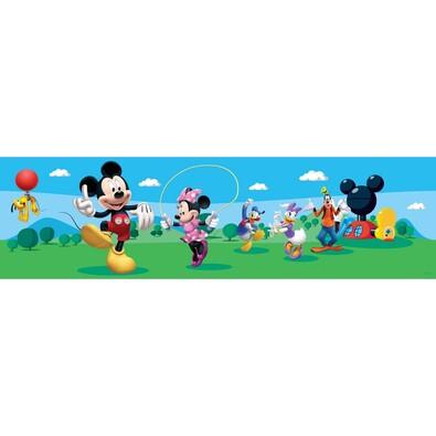 Samolepicí bordura Mickey Mouse a jeho přátelé, 500 x 14 cm