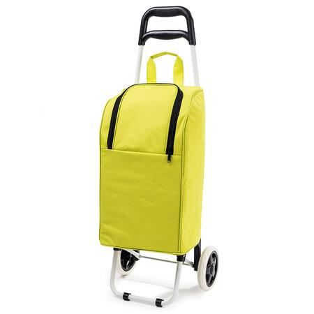 Chladicí nákupní taška na kolečkách Lola, zelená