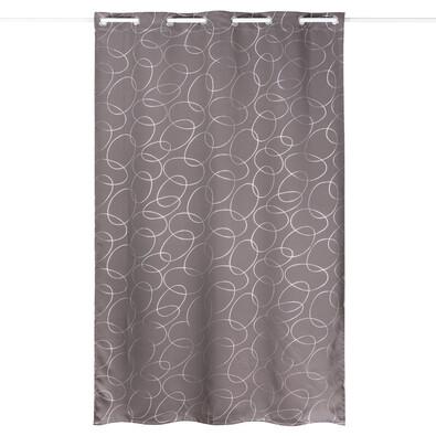 Zasłona zaciemniająca Serge szaro-srebrny, 135 x 245 cm