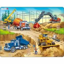 Larsen Puzzle Na stavbě, 30 dílků
