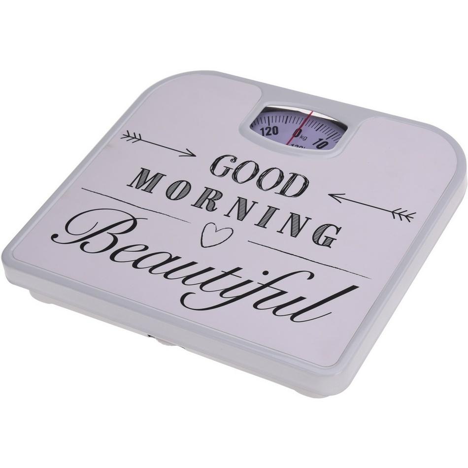 Osobní váha Good morning, bílá