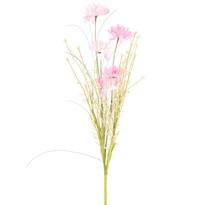 Mű réti virágok, 50 cm, rózsaszín