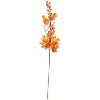 Dekoracje jesienne gałązka klonu z dyniami, wys. 65 cm