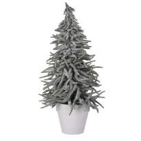Vianočný stromček v kvetináči Tarent 58 cm, zasnežený