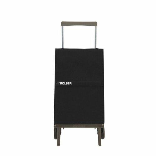 Rolser nákupní skládací taška na kolečkách Original MF Barva: černá
