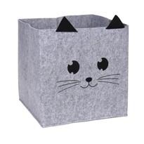 Dekoračný košík Hatu Mačka, 32 x 32 x 32 cm