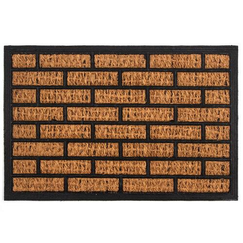Kokosová rohožka Cihla, 40 x 60 cm
