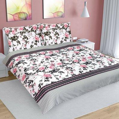 Bavlnené obliečky Ruža šípková, 240 x 220 cm, 2 ks 70 x 90 cm