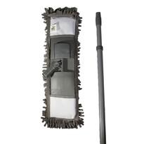 Mop GREY CHENILLE s žinylkovým mikrovláknem 12 x 41 cm a s teleskopickou tyčí 68-120 cm