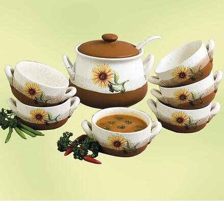 Sada na servírování polévky