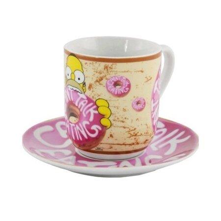 The Simpsons kerámia bögre tányérkával 350 ml