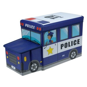 Box na hračky a sedátko Policie