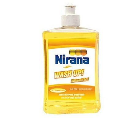 Prostředek na mytí nádobí NIRANA Wash up 500 ml