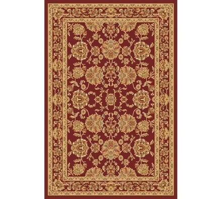 Kusový koberec Malaga Klasik, hnědý se vzorem