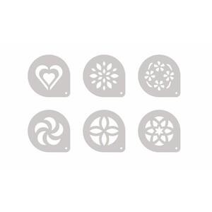 Tescoma myDRINK šablony na cappuccino 6 ks