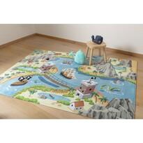 Detský koberec Ultra Soft Tresure Island, 90 x 130 cm