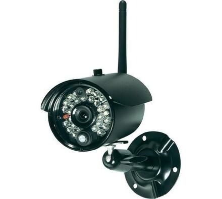 Bezdrátová venkovní kamera, 2,4 GHz, IP68, Conrad, černá