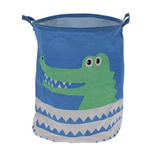 Dekoračné košík Hatu Krokodíl, pr. 40 cm